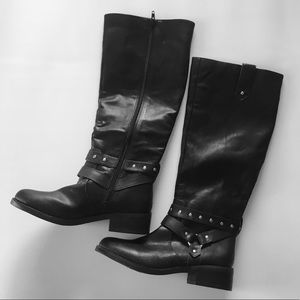Abound Sutten Faux Leather Tall Moto Boot